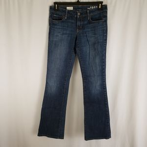 Gap 1969 Perfect Bootcut Topaz Wash Jeans 27